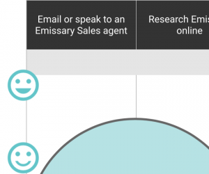 Emissary's Customer Journey Maps